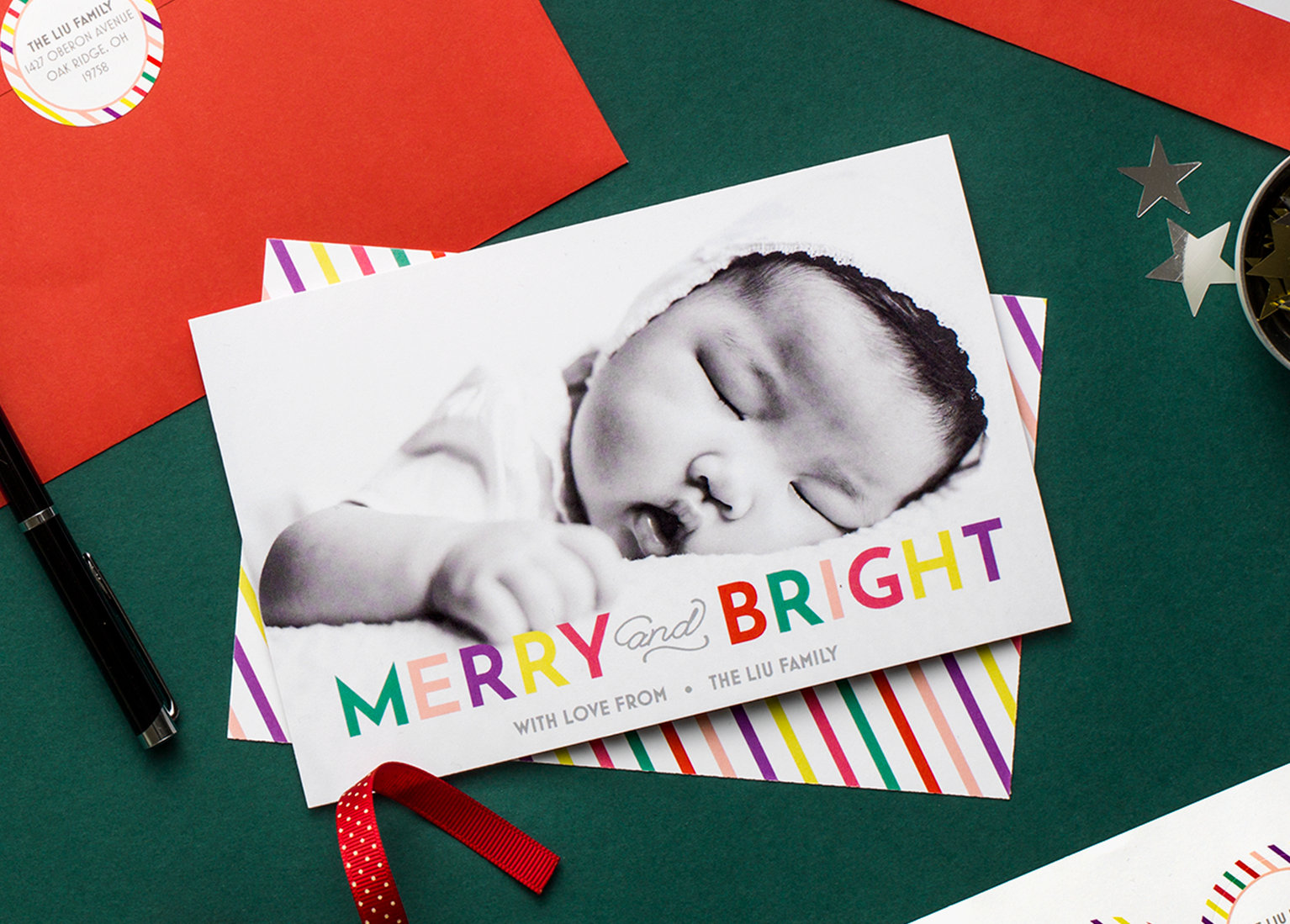 All about Christmas Cards Personalized Holiday Cards Vistaprint ...