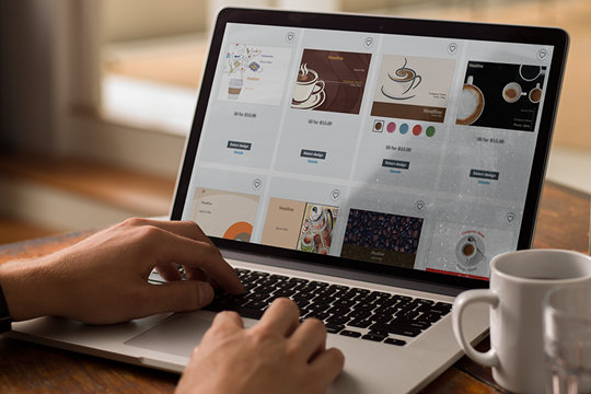 how to create your own marketing material online vistaprint
