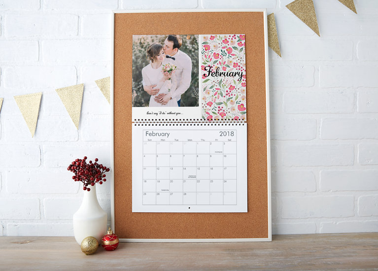 custom calendars personalized photo calendars vistaprint