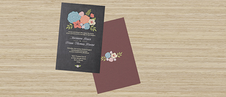 Custom invitations make your own invitations online vistaprint pearl invitations stopboris Choice Image