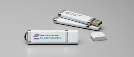 Custom 4 GB USB flash drives