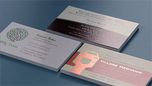 Foil business cards printing brilliant finishes vistaprint brilliant finishes reheart Choice Image