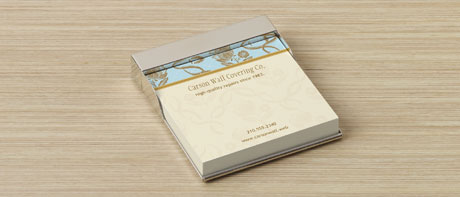Custom Metal Sticky Note Holders For Home Or Office