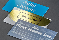 Glossy business cards vistaprint make it brilliantly memorable reheart Choice Image