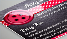 Glossy business cards vistaprint use this tool to click through examples with spot gloss and without to see the striking difference for yourself reheart Gallery