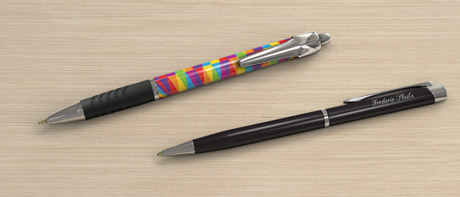 Custom Printed And Engraved Pens