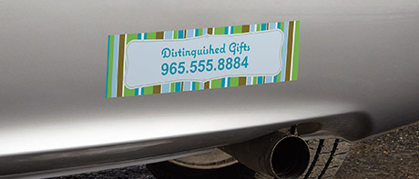 Personalized I Heart Bumper Stickers