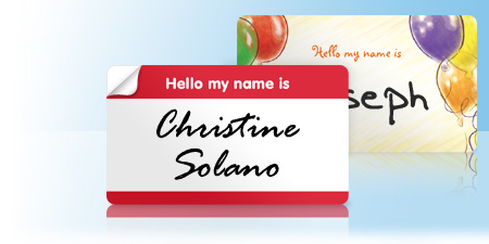 name tags - Name Tag Design Ideas