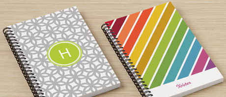 Incroyable Custom Lined Or Blank Notebooks