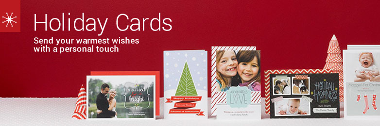 Christmas Cards, Personalized & Custom Holiday Cards | Vistaprint