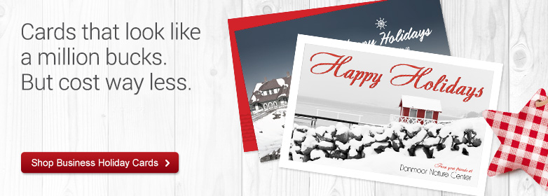 Business Christmas Cards, Company Holiday Cards | Vistaprint