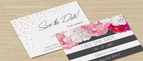 save the dates - Make Wedding Invitations
