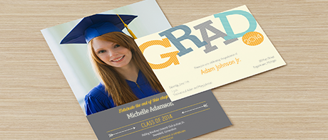 Graduation invitations for high school & college