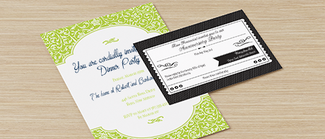 Custom invitations make your own invitations online vistaprint business invitations reheart Choice Image